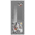SPORTCHICAUTO - BLACK - Echarpe en soie ou laine et soie - 70x180 - VL design - Roulotte main - Made in Italy  Existe en bleu - rouge - vert