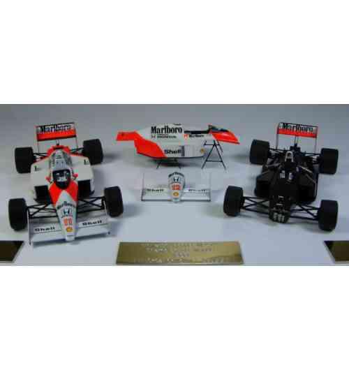 McLaren Honda MP4/4, 1988 - Coffret de deux modèles super-détaillés au 1/43-scale