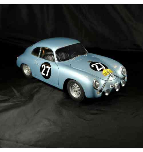 1/12 Porsche Carrera # 27 1ère Liége Rome Liége 1959 - Modèle monté au 1/12 en résine et pièces photodécoupées. Série limitée
