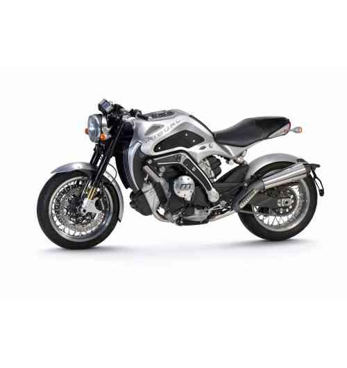 MIDUAL TYPE 1 - « Built like a watch ! » - « Une moto construite comme une montre ! » Dessinée, développée et fabriquée en France par une équipe de passionnés, la Midual Type 1 possède un haut niveau de singularité technique : - Châssis constitué d'une double coque autoporteuse en alliage d'aluminium magnésium, faisant office de réservoir, coulé en une seule fois dans une fonderie aéronautique. - Moteur boxer de 1000 cc, monté dans le sens de la route et incliné de 25°. Développé en interne, il offre douceur et performances  pour le pilotage sur route. - Construction tout en métal avec un niveau de finition et de détail horloger.