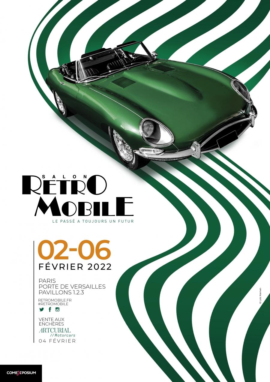 affiche Retromobile 2022