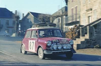La Mini Cooper S, 1963