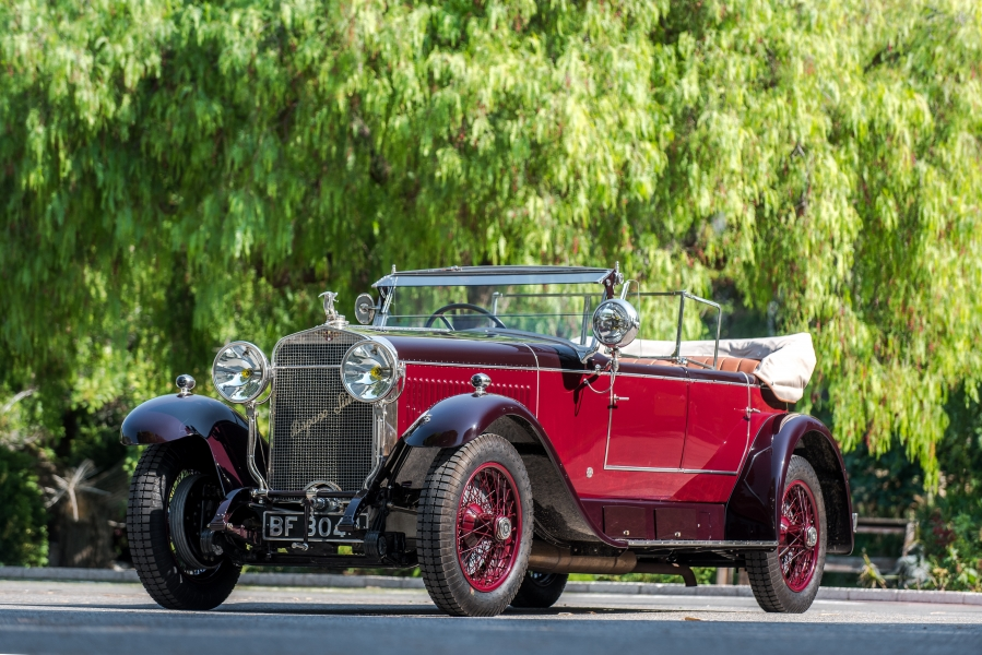 1926 Hispano Suiza H6B Sport Double Phaeton par Million Guiet