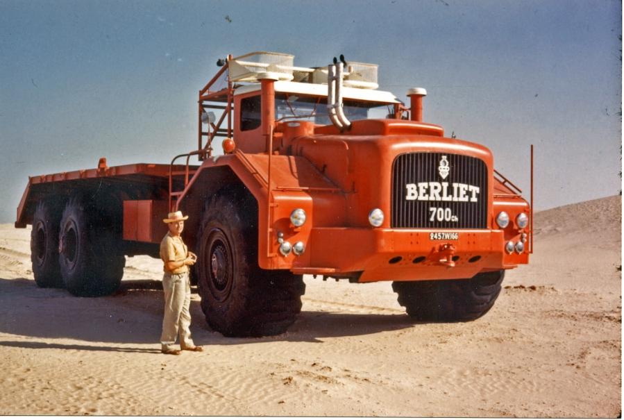 T100, Sahara 1960