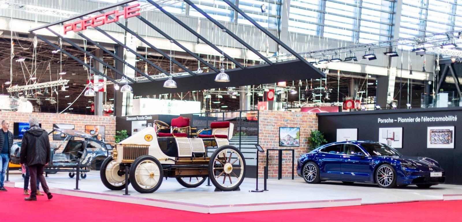 Bilan Salon Rétromobile 2020 porsche