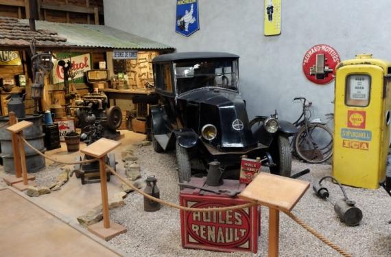 Le Musée Charolais du Machinisme Agricole partenaire du salon Rétromobile
