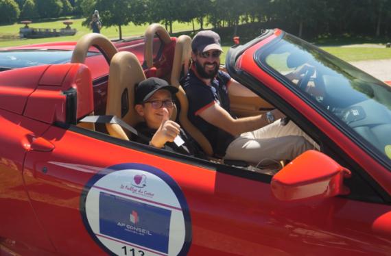 Rétromobile partenaire du rallye du coeur