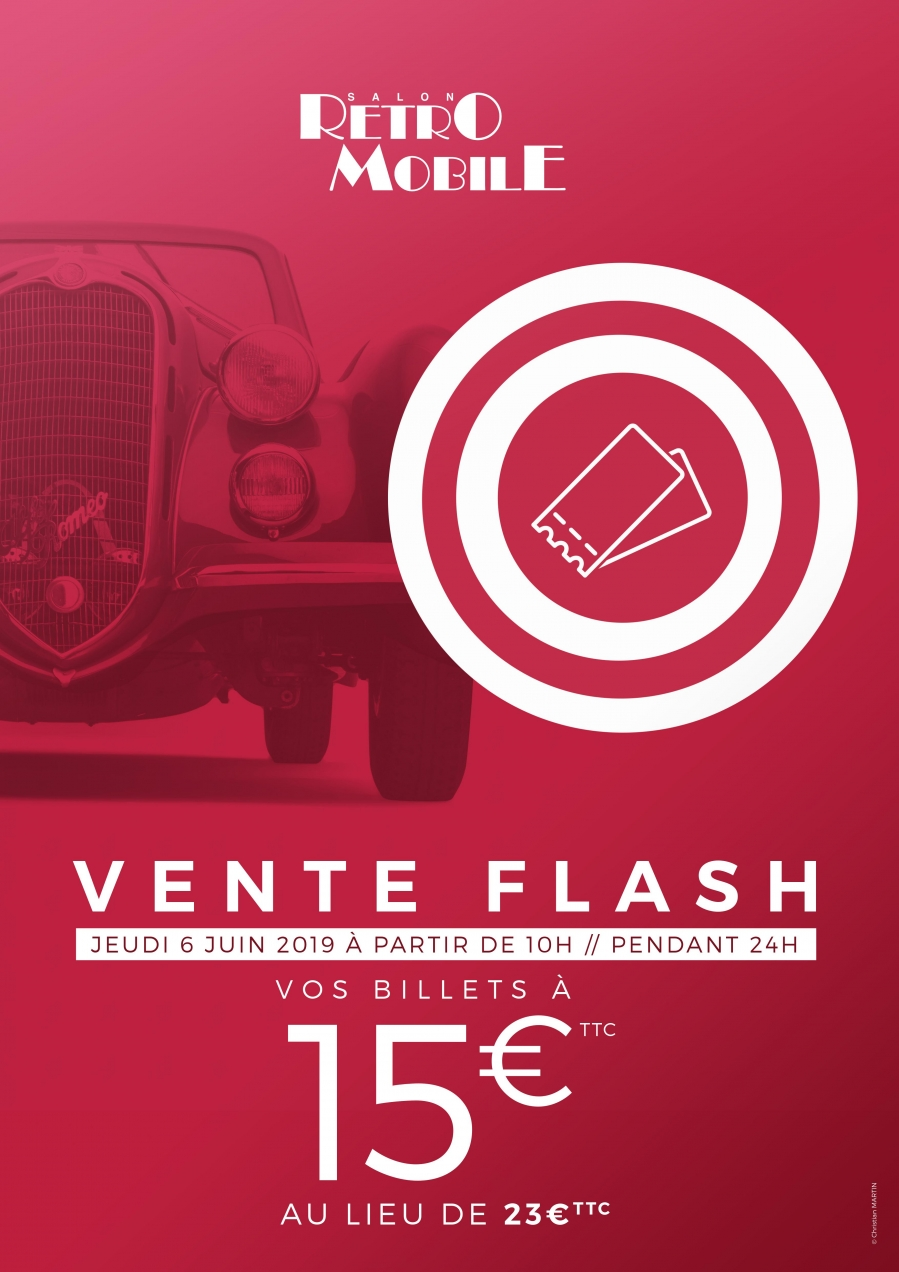 Vente Flash Retromobile