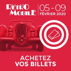 Salon Rétromobile - Bannière 2020