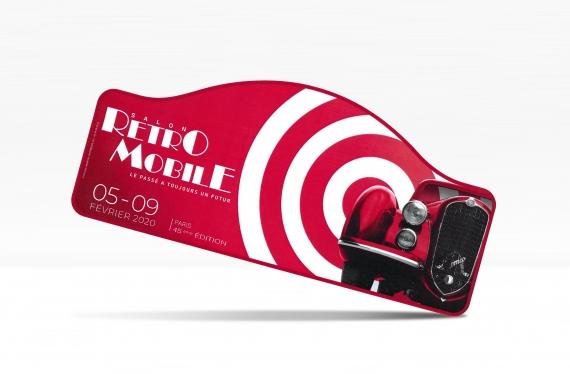 Plaque Rétromobile 2020
