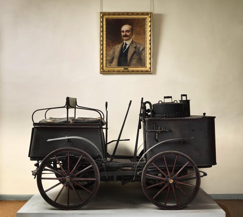 Dog Car à vapeur de Dion Bouton