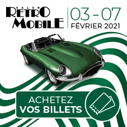 Pavé Retromobile 2021