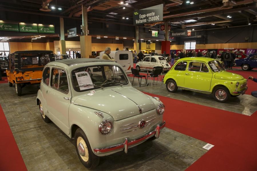 Expo-vente Rétromobile  des :véhicules à moins de 25 000€