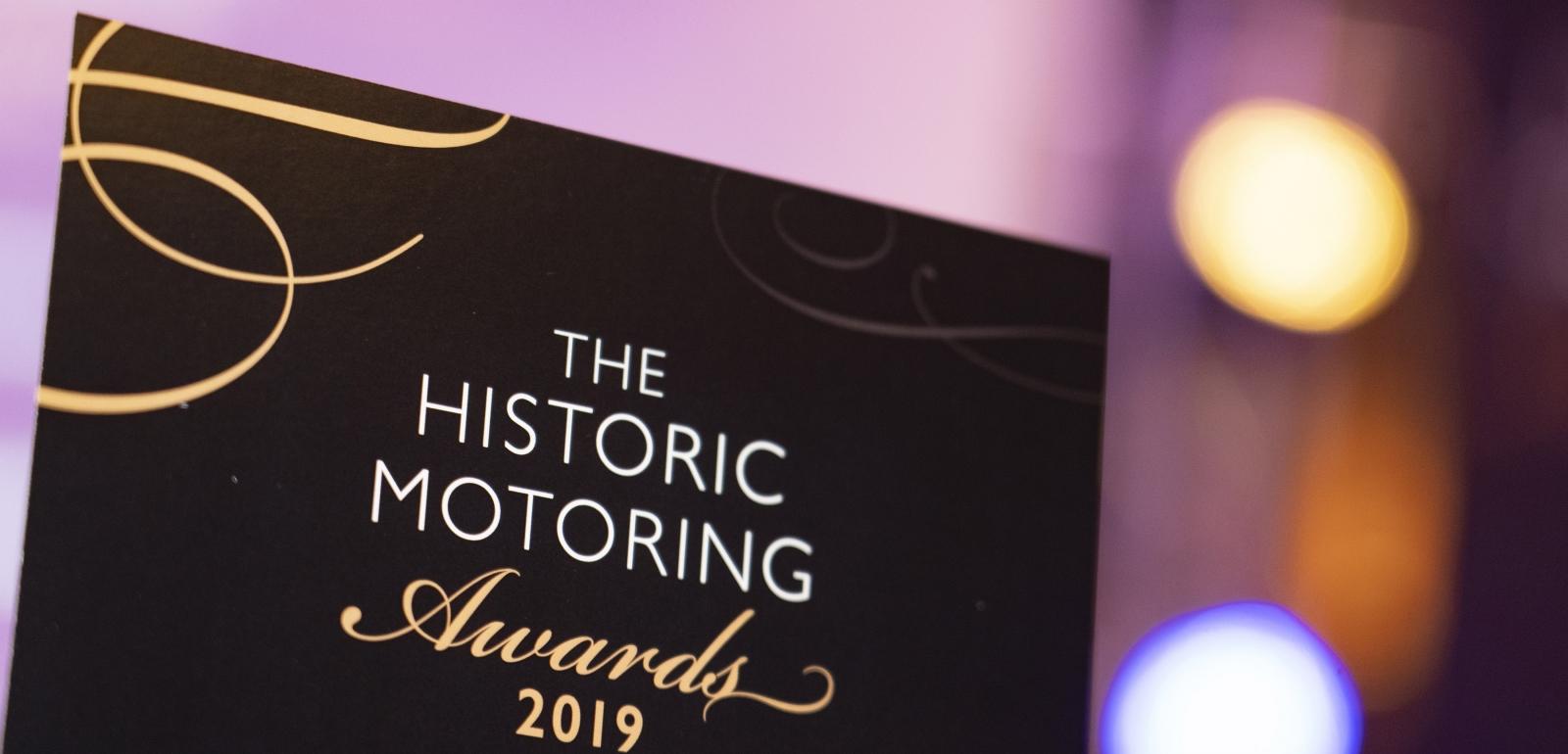 Historic Motoring Awards 2019 Winner Retromobile