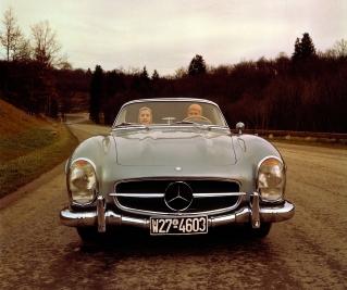 salon de la voiture de collection et véhicules anciens constructeur Mercedes